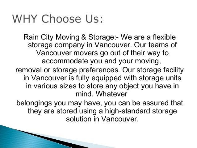 5. Rain City Moving U0026 Storage:  ...