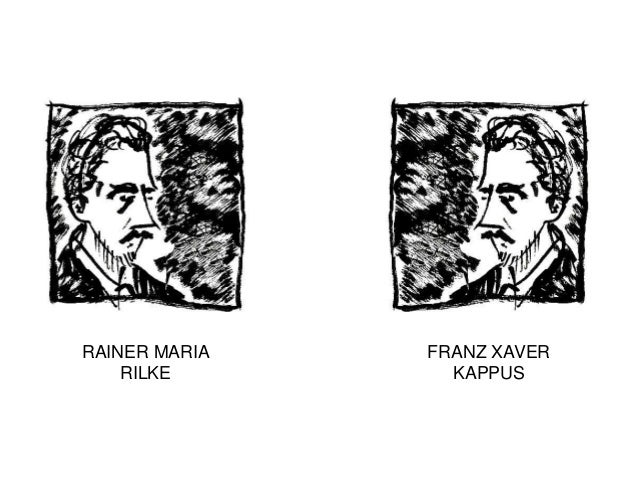 RAINER MARIA   FRANZ XAVER    RILKE        KAPPUS