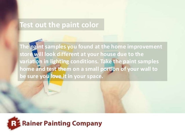 Tips On Choosing The Right Exterior Paint Colors For: 5 Tips For Choosing The Right Paint Color