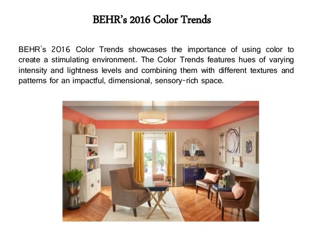 Top Paint Colors of 2016