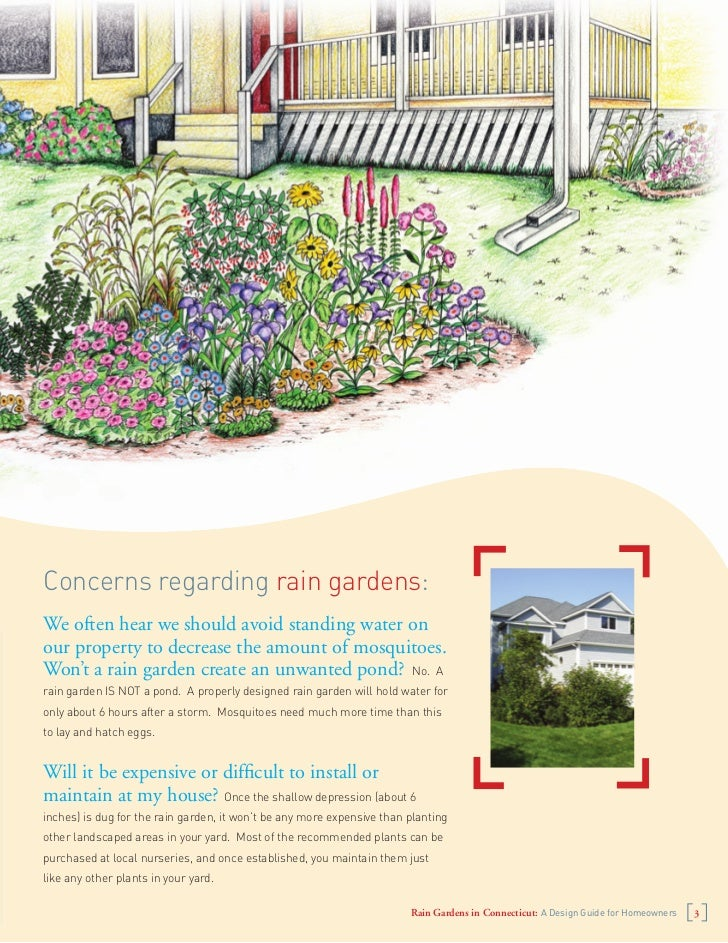 Connecticut rain gardens manual for Punch home and landscape design won t install