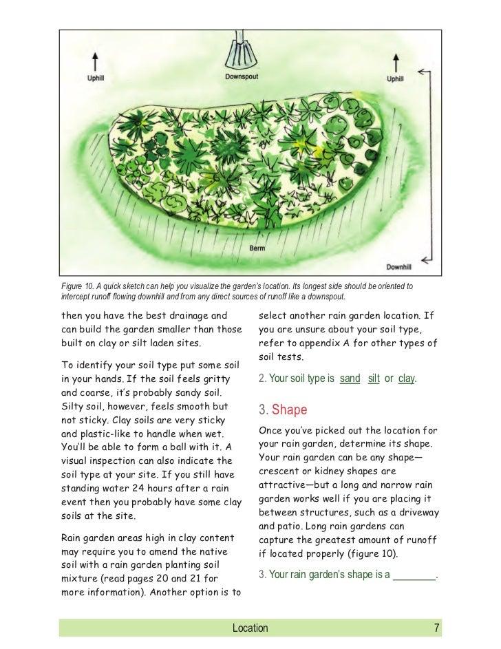 Maryland Rain Garden Manual on rain garden drawings, vegetable garden design sketch, rain garden construction plan view,