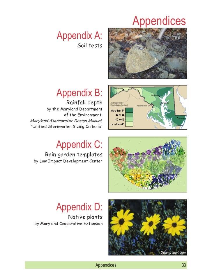 Maryland Rain Garden Manual