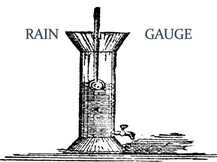 Rain gauge pd.5