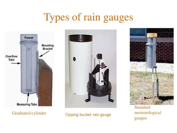 Rain gauge pd 1