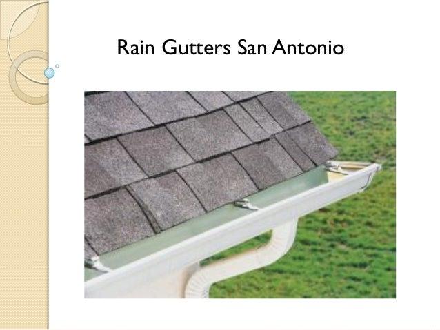 Rain Gutters San Antonio