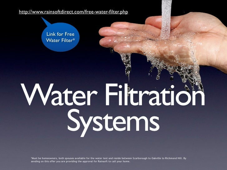 http://www.rainsoftdirect.com/free-water-filter.php                     Link for Free                  Water Filter*     Wa...
