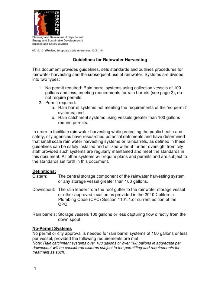 Planning and Development DepartmentEnergy and Sustainable Development &Building and Safety Division07/12/10 (Revised to up...