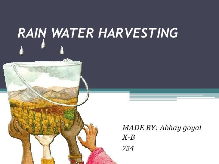 Rain water harvesting complete rain water harvesting made by abhay goyal toneelgroepblik Images