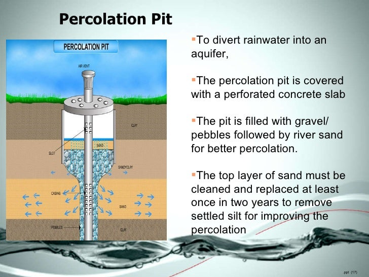 Rainwater harvesting for decision makers for Design of oxidation pond ppt