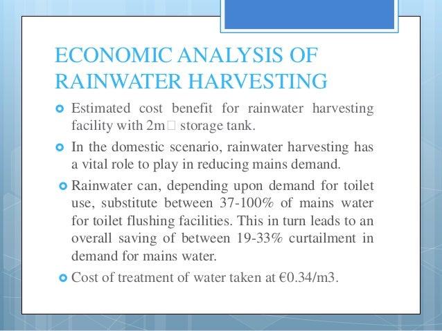 Essay rain water harvesting