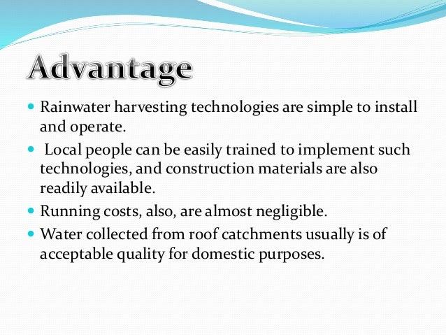 Rain water harvesting |authorstream.
