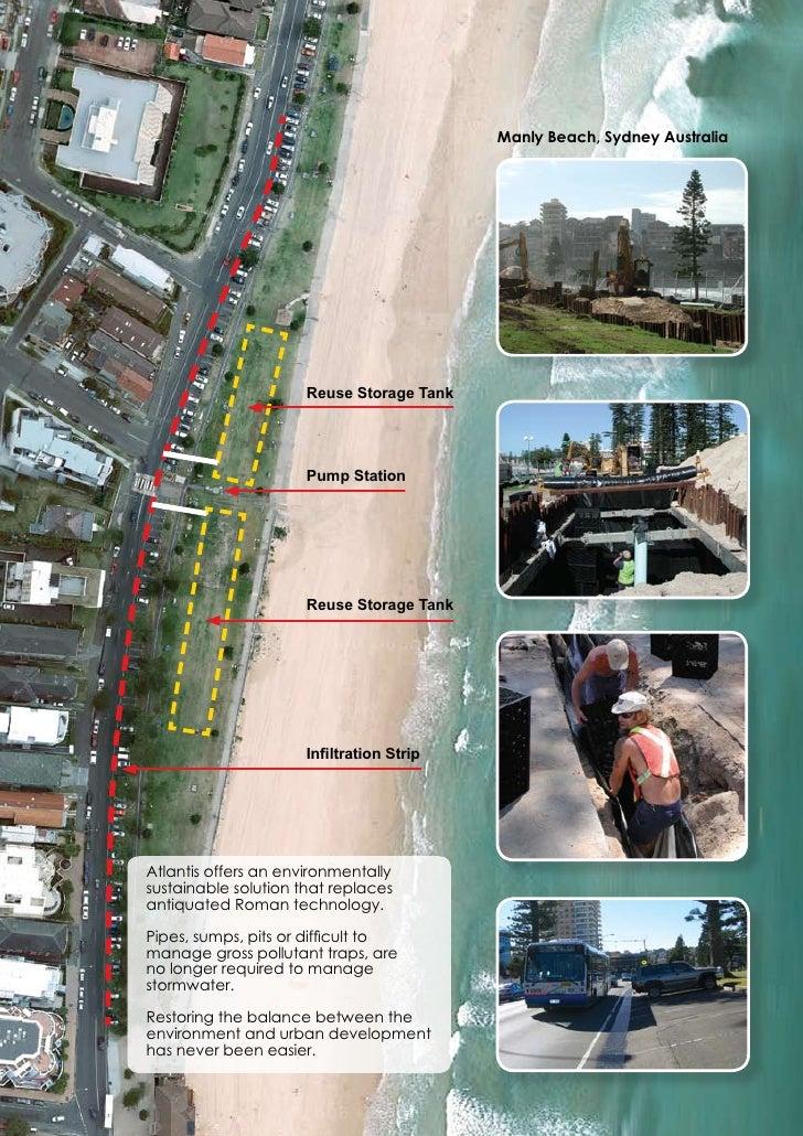 Manly Beach, Sydney Australia                      Reuse Storage Tank                      Pump Station                   ...