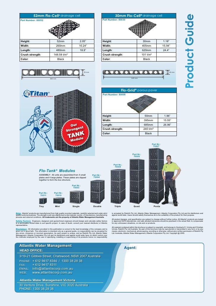 Flo Cell Drainage : Rainwater harvesting systems case studies