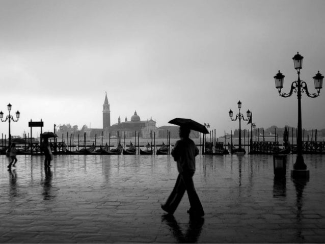 Black and white photography rain