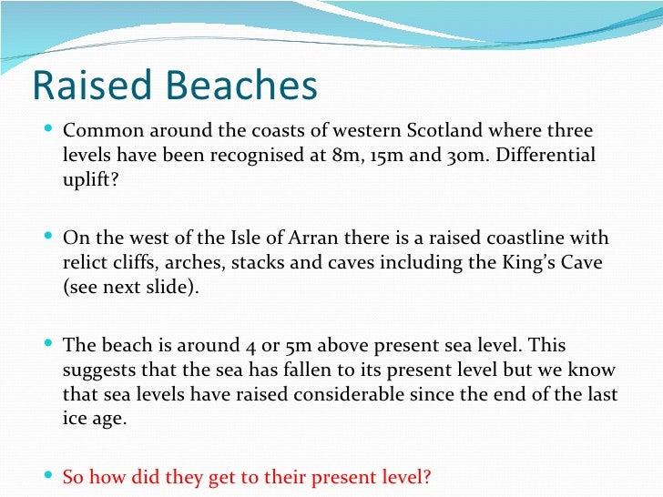 Raised Beaches And Estuaries 2011