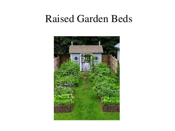 Raised Garden Beds<br />