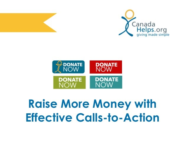 Raise More Money with Effective Calls-to-Action
