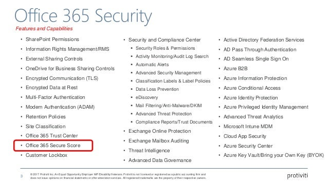Raise Your Office 365 Secure Score - Antonio Maio Slide 3