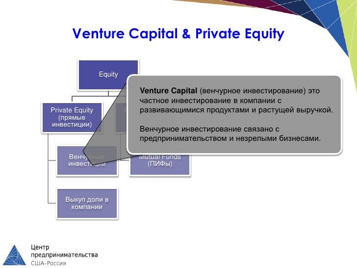 Venture Capital & Private Equity                 Equity                               Venture Capital (венчурное инвестиро...