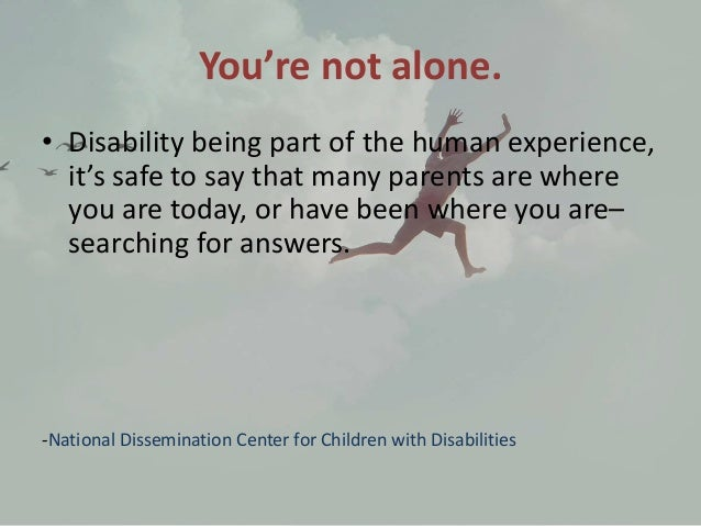 raising a child with a disability essay Recommended books about the disability experience  raising a child with a disability can often be more isolating and frustrating than any parent ever imagines.