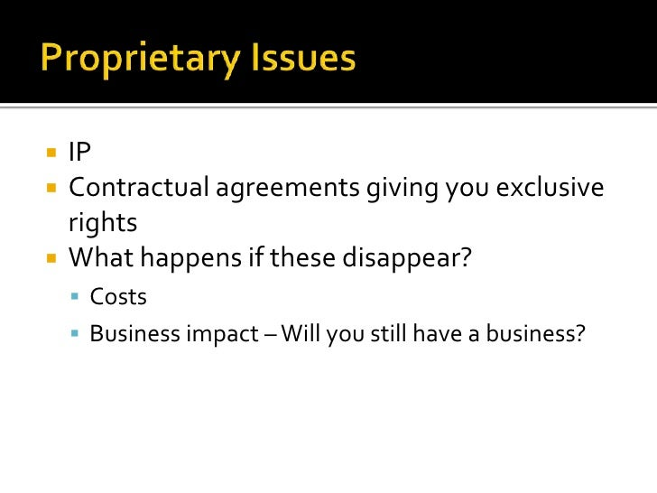 Proprietary issues in business plan business plan brutarie