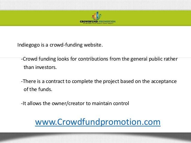 Raising money online Slide 2