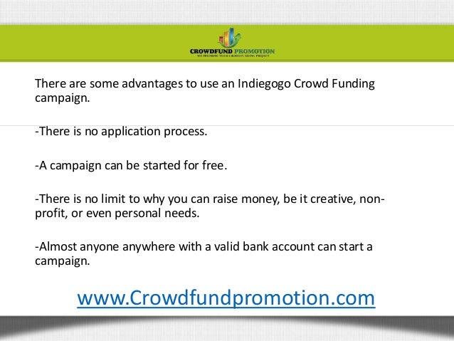 Raising money online Slide 3