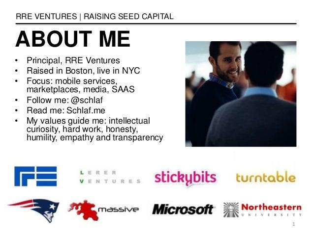 Raising Seed Capital Slide 2