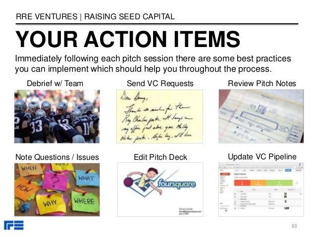 Capital raising seed round