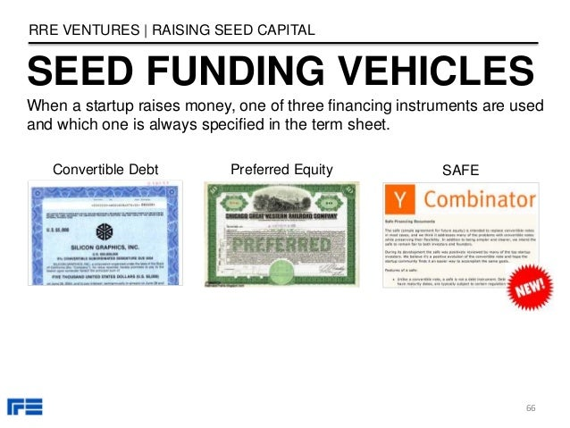 SEED FUNDING VEHICLES RRE VENTURES