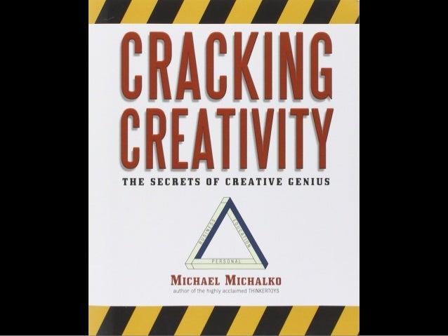 Raising The Bar NYC 6/2/2015: Cracking Creativity Slide 2