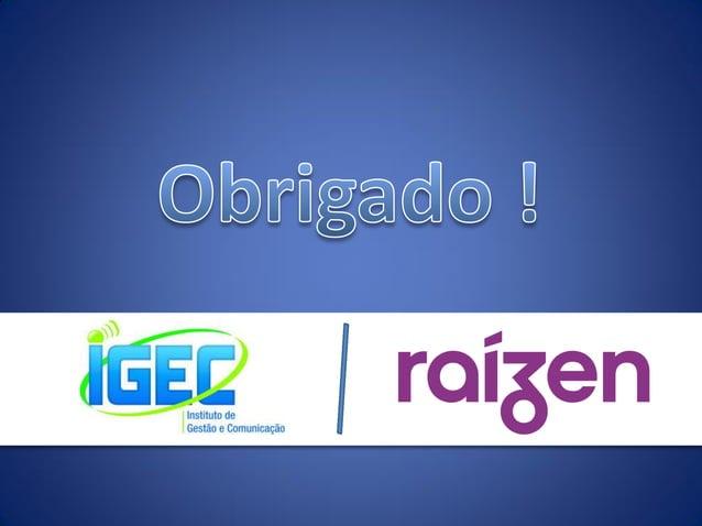 Business Game Supercase IGEC 2014 - Raízen / Shell