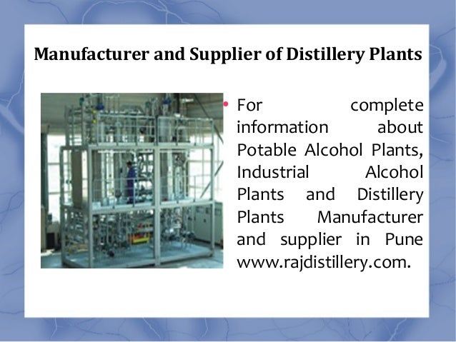 Molasses Based Distillery Plant India