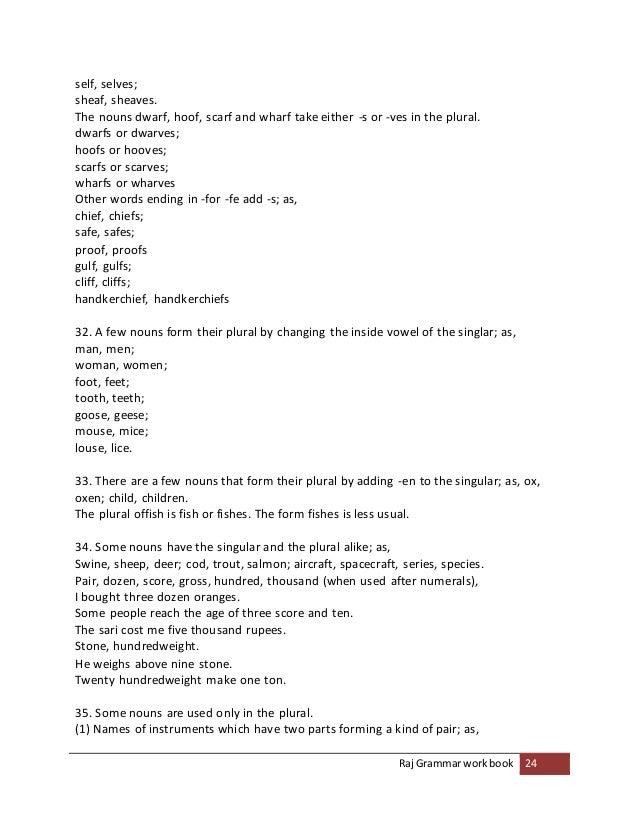 raj grammar book