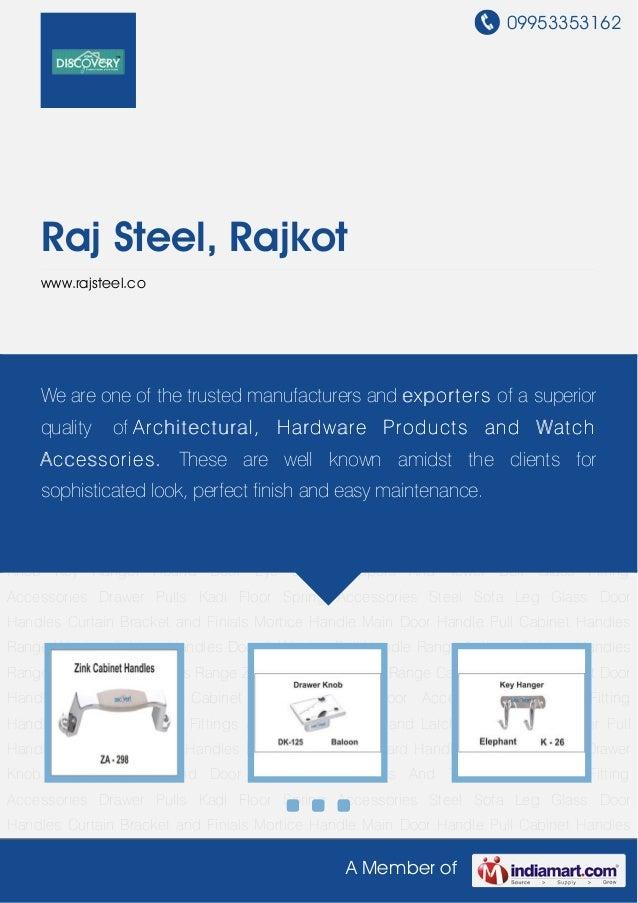 09953353162A Member ofRaj Steel, Rajkotwww.rajsteel.coCabinet Handle Drawer Knob Key Hanger Round Door Eye Door Stoppers A...