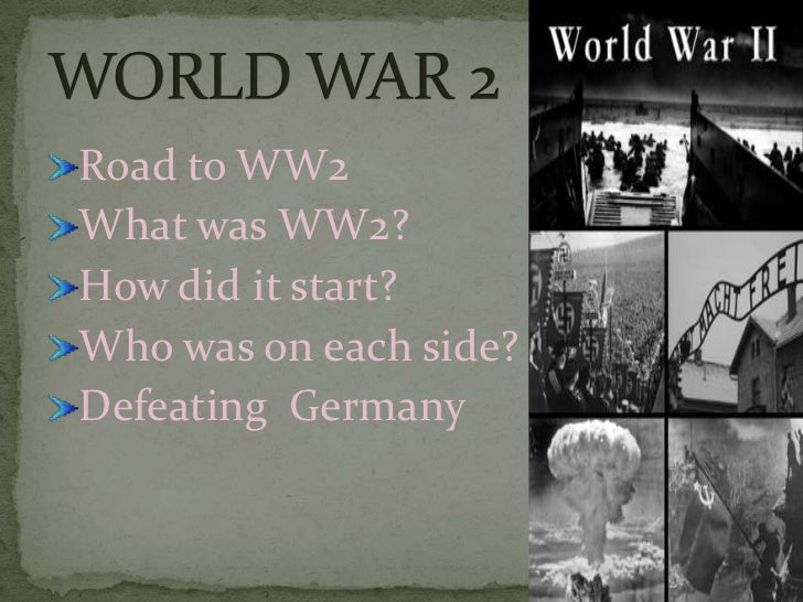 Hitler's nazism led to World War 2