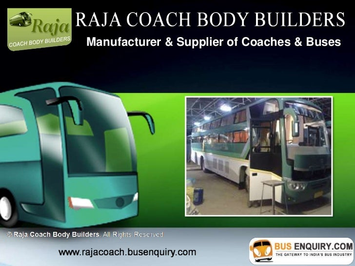 Manufacturer & Supplier of Coaches & Buses