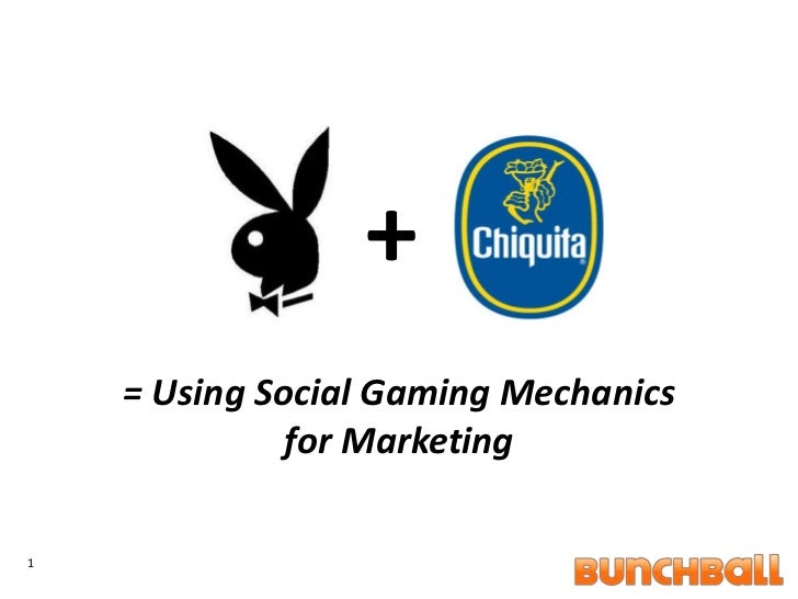 1<br />+<br />= Using Social Gaming Mechanics for Marketing<br />