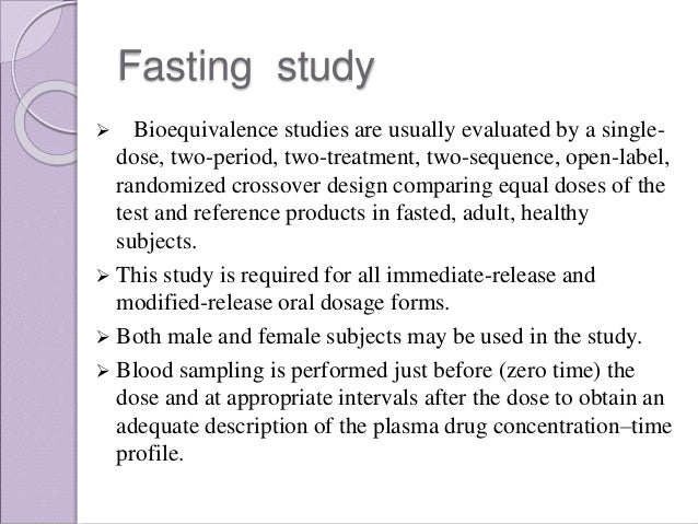 Sample Size and Power Analysis in Bioequivalence Studies ...