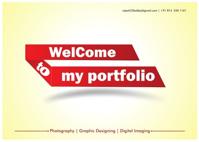 Rajesh portfolio 25th nov