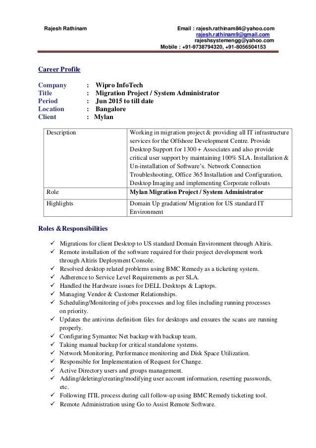 SlideShare  Yahoo Resume