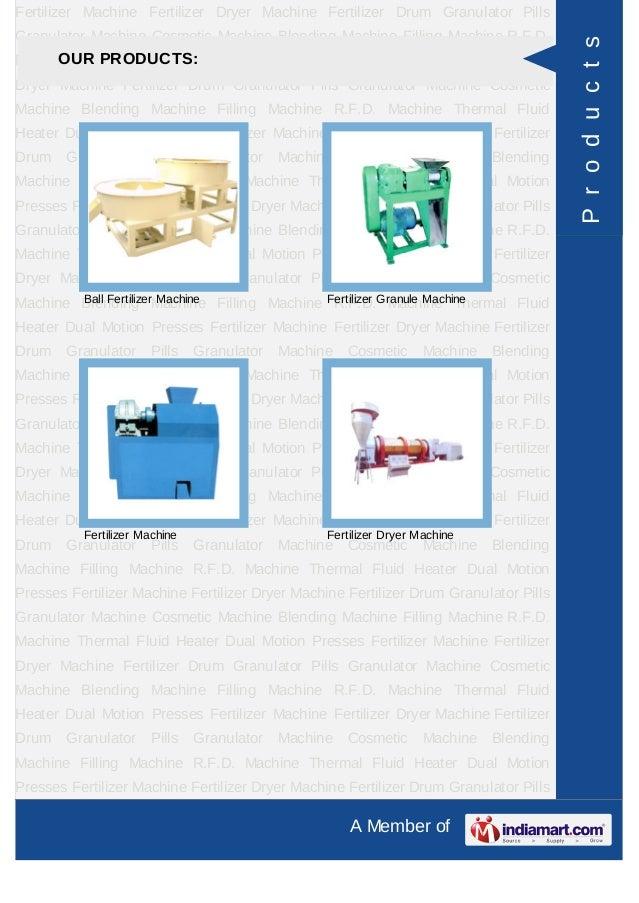 Raj Engineering, Vapi, Chemical & Fertilizer Machine Slide 3