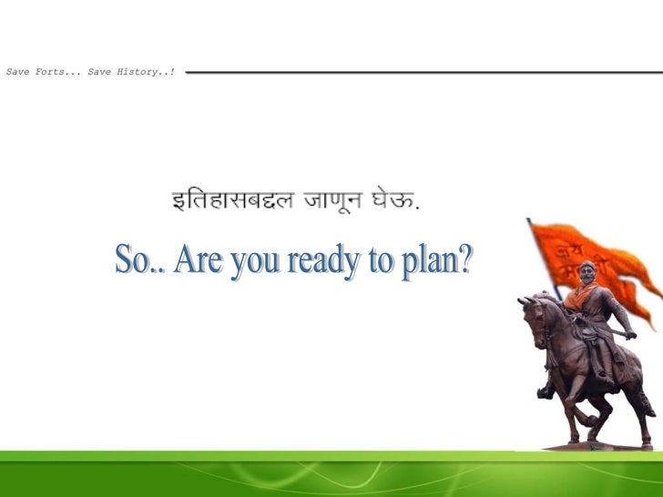 So.. Are you ready to plan?
