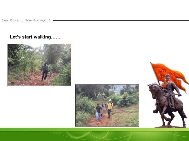 Let's start walking……