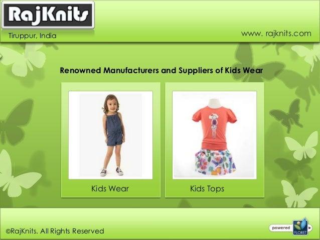 Kids Wear Exporters in India Slide 3