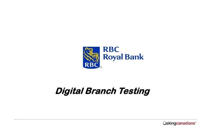 Digital Branch Testing