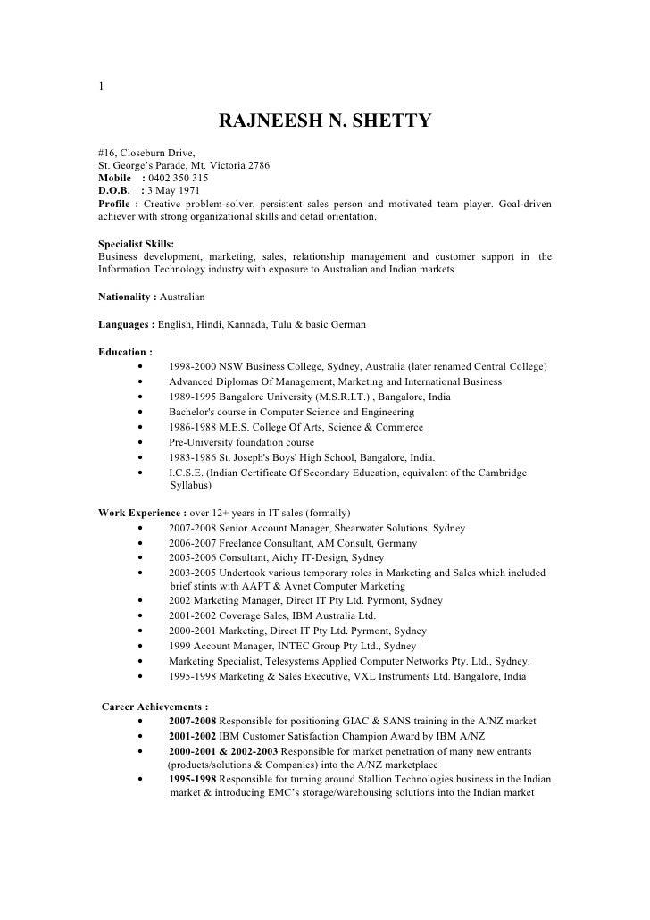 rajneesh321 resume