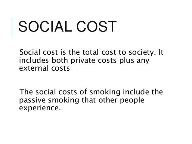 Social Cost Of Inflation
