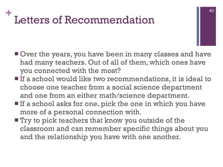 Parent Recommendation Letter For College Images Letter Format